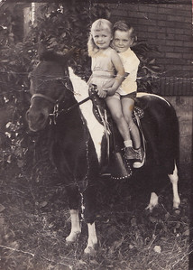 France and Come on a pony ride ... way way back!
