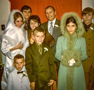 Famille Raould et Carmelle Lefebvre