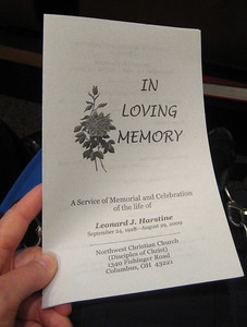 Leonard died August 29, 2009 from infections while in the recovery process after surgery.