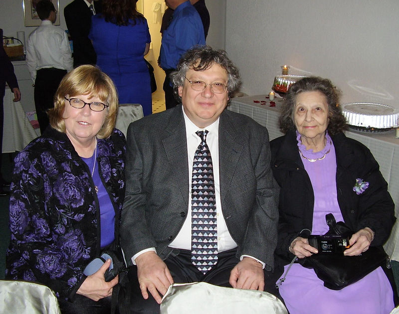 Jackie, Wendell and Wendell's mom, Louise Murray