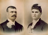 1888 John Molin Ingrid Molin Wedding