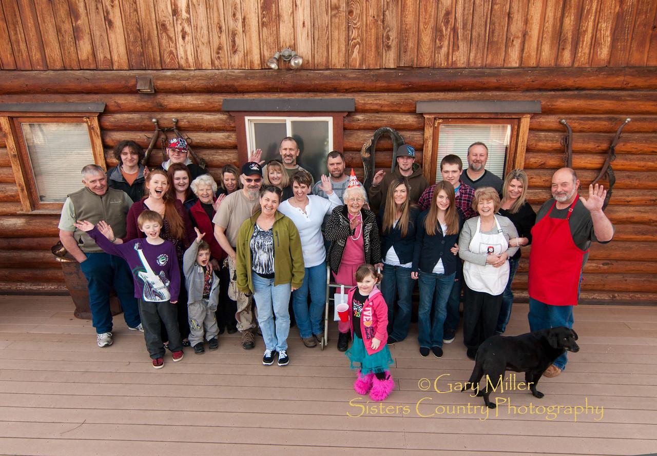 The gathering of the clan - Leona Albert's 88th Birthday Celebration