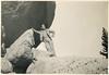Leonard at Balanced Rock, in Arches National Park, Utah.