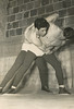 OU wrestlers Leonard Marcotte and Jim Eagleton - photo for yearbook