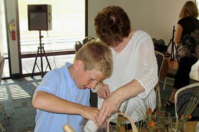 Spencer helps his grandma