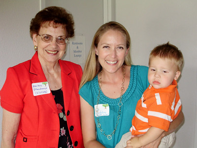 Aunt Marlene, Ari, & Joey