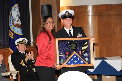 Leroy's Navy Retirement