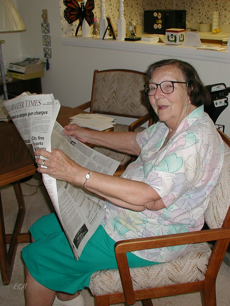 2000-09-16, Mom in Clearwater, FL