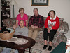 Christmas 2000 Carol, Russ, Elizabeth, Logan, and Blackjack in the basket.