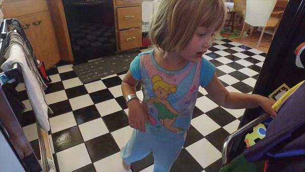 Lexie's Fourth Birthday_morning, July 9th, 2016