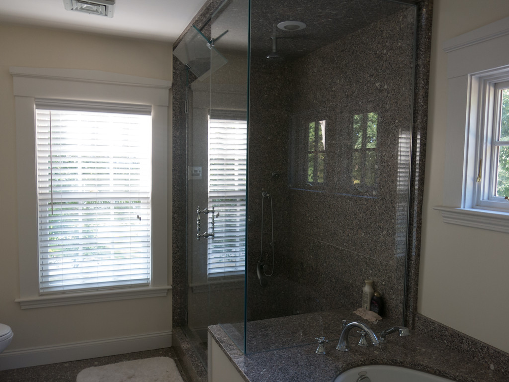 Master bathroom;  unchanged