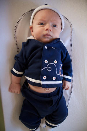 Liam 8 weeks old