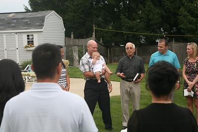 Liam Kenneth's Baptism- June 28, 2013