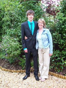Tom and Proud mum, Elizabeth