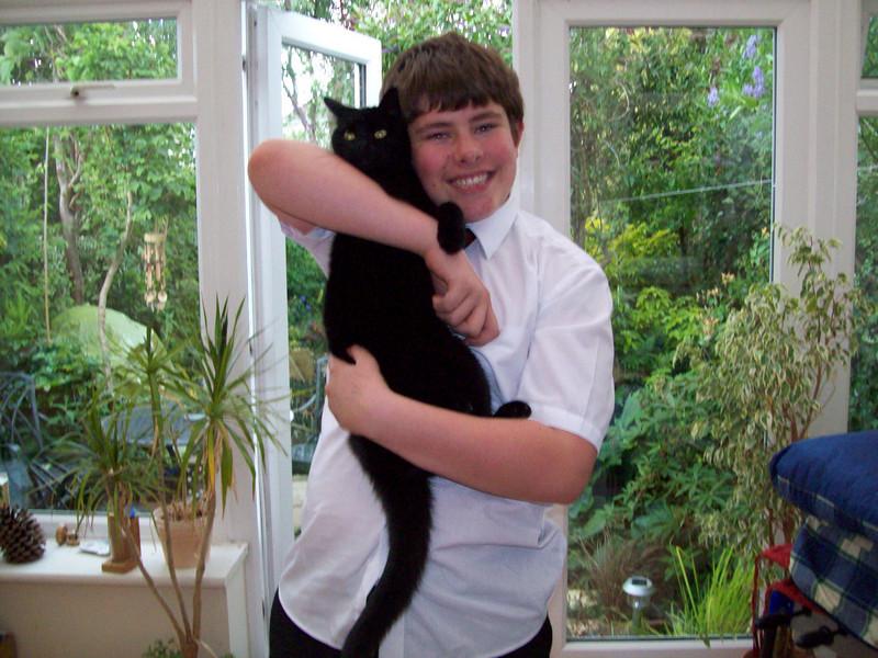 Matt with Sooty