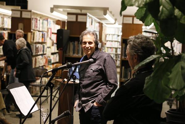 Lib & Dillon at Mill Valley Library