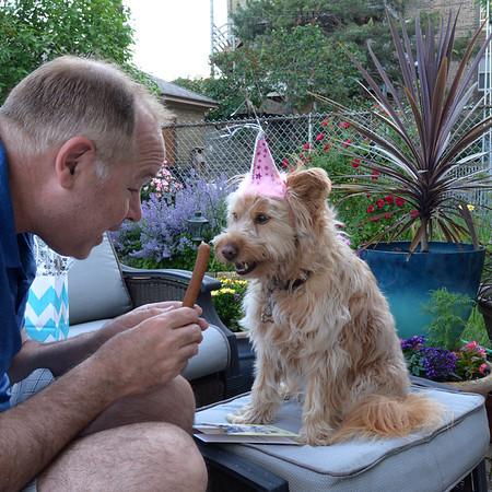 Happy 5th birthday, Libbi.  June 1, 2016