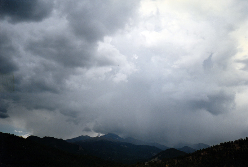 STORM OVER LONG'S PEAK<br /> Estes Park, Colorado