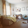Center Street apartment, 1981, Kathryn sick