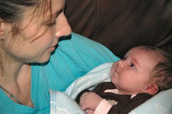 Lila and Mom
