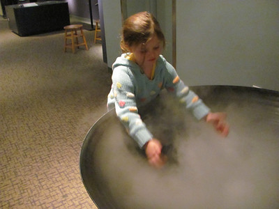 Lila at NC Museum 10-23-2010