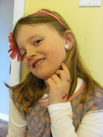 Lila's Valentine's Day Bling