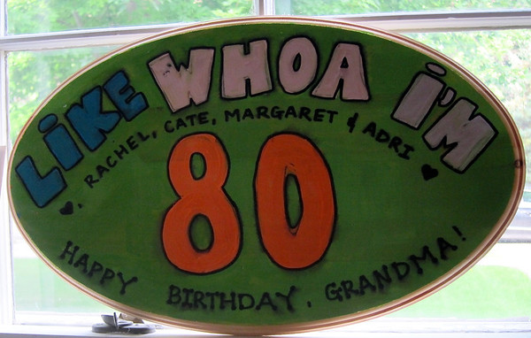Dee Dee's 80th Birthday - 2011