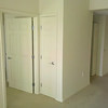closets, door to master, hall to W&D and master bath