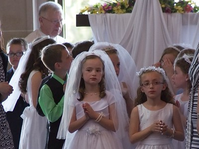 Lilly's First Holy Communion