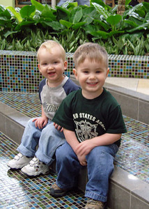 2007 - my cousin Steve Gaines' boys that he adopted from Russia - they are so adorable!  They live in San Antonio, Texas