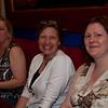 Karen (Arnum) Mitchell, Lydia (Teoste) Gillespie, Sue (Baker) Palmer