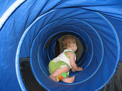 This is Evan's tunnel.
