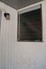 Louvered window. Will be replaced.