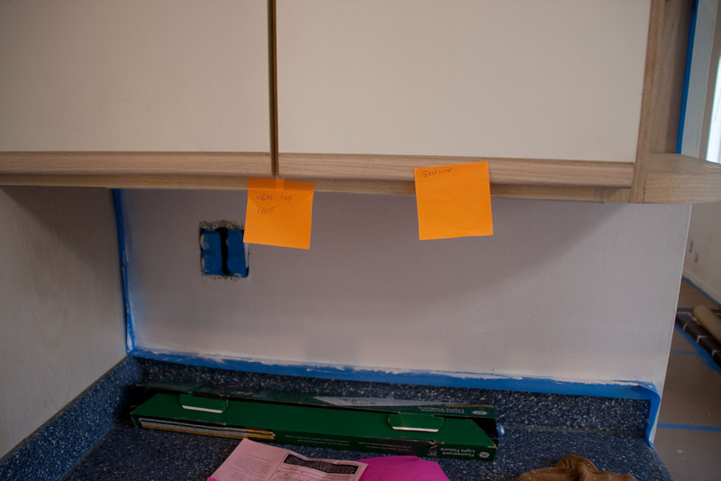 Little to-do notes on post-its were everywhere.