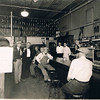 Uncle Howard in center, at GS Lines Hardware store, Browns Valley, MN