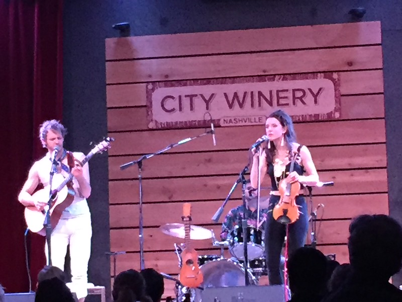 Fun evening at the City Winery.