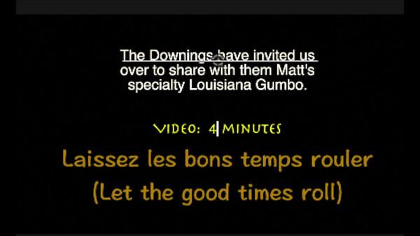 Gumbo at the Downings~~Sun., Jan. 8, 2017