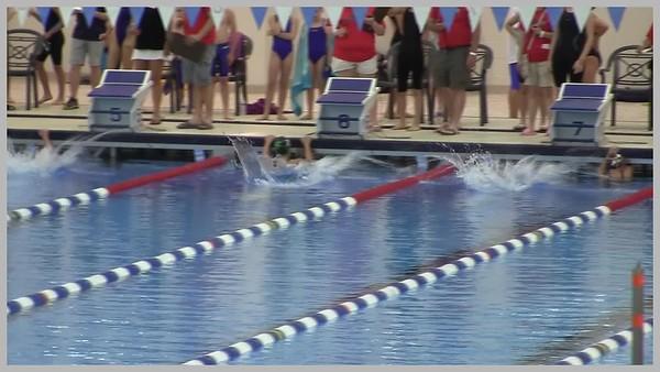 Video:  5 mins. ~~ Alexandra swims at Spire Institute, Geneva, OH
