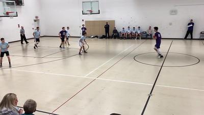 Video:  20 - Matthew Jr., Basketball League, Avon H.S. Sun., Jan. 6, 2019