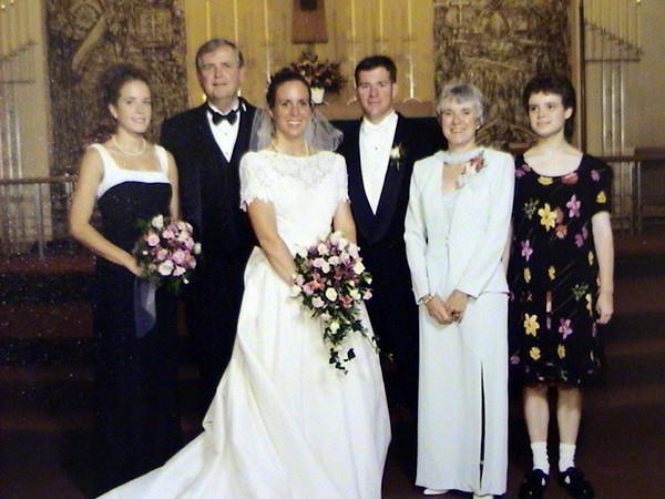 Lisa and Matt's wedding.  August 5, 2005
