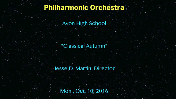 VIDEO:  17 minutes -- Philharmonic Orchestra