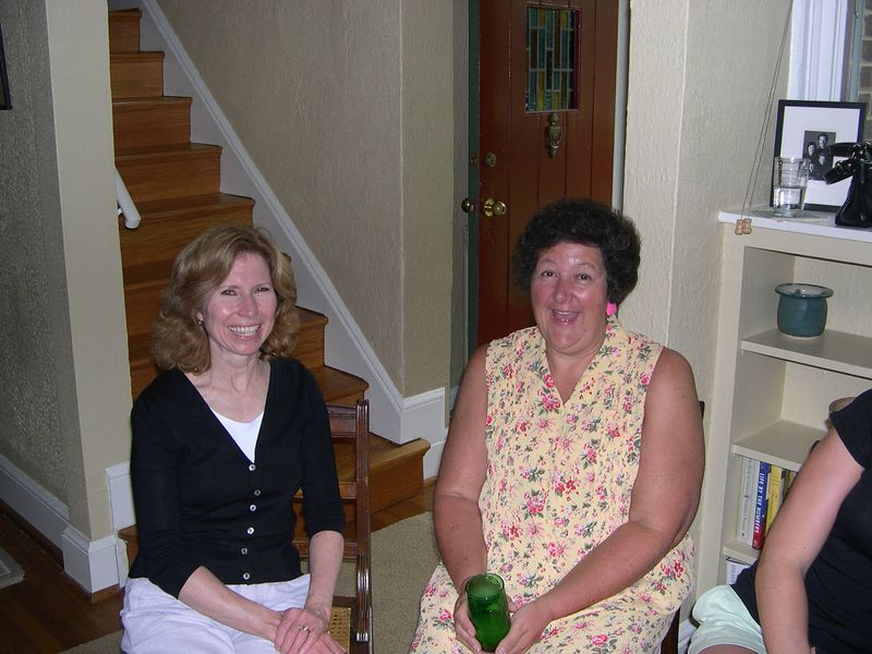 Mary Jo and her sister-in-law Linda.