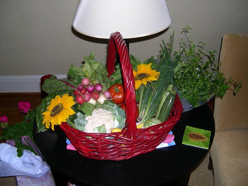 A garden basket for Liz.