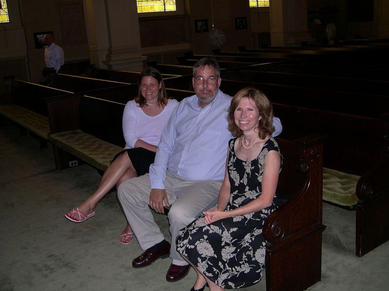 Bob and Mary Jo Wood, with Jenny.