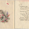 Card mailed 1939 February 12th from Lloyd Lantz to Helen Hamel. Somebody cares and somebody's me! Card interior.