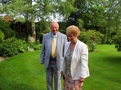 Happy-looking couple