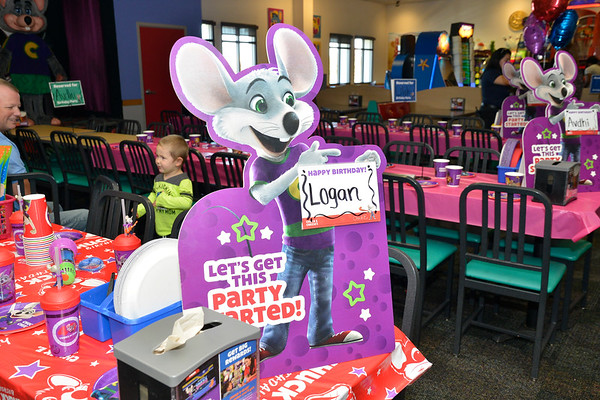 Logan 3rd Birthday