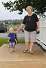 2010 Carol walks with Will to Pre-School