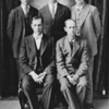 The Taylor Brothers - 1917 -- left to right from the rear:   Everett, Zack, Emmett, Bill, Harris -- this was around the time they all emigrated from Missouri to Washington State