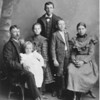 Great- Grandpa Wallace Weir - 37, Hazel - 2, Ethel - 8, Tude - 14, Wade - 10 and Grandma Mabel - 12.